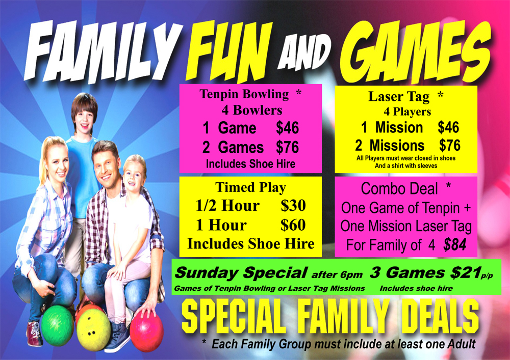 Prices Laser Tag Rocky Bowl And Leisure Centre